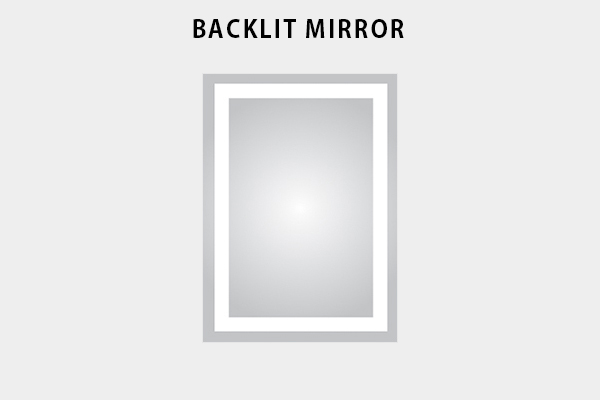 Backlit Mirror Website Icon